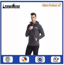 famous brand hoodies of LEDENSWEISEOn Grey Mens sportwear Hoodie Factory Direct Sale