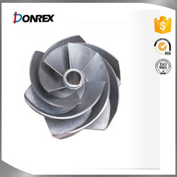 Chinese CNC machining impeller with ISO9001 certification