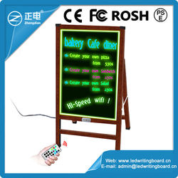 Top selling products 2015 60x80cm acrylic panel lower price bar display led sign board