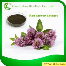 2015 natural estrogen Red clover p.e. isoflavones,HACCP KOSHER FDA 8%-40% HPLC red clover extract
