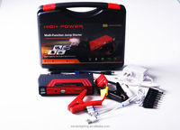 auto kits set of tools for cars 12v battery MC09 car jump starter with mini air compressors