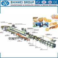COMPETITIVE PRICE MULTIFUNCTION AUTOMATIC SOFT BISCUIT PRODUCTION LINE FOR SALE