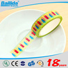 Hot new products for 2015 wonderful printed dot waterproof washi tape