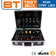 Portable Multi-Function Aluminum Led Demo Case For Light Bulbs Testing Led Meter Box