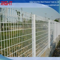 Galvanized Welded steel Wire mesh temporary Fence Panels