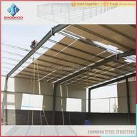 steel structure construction prefab factory building