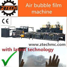 single layer pe-extrusion air bubble film machine with latest technology
