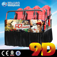 Movie Theater Equipments 9d cinema for sale