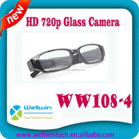720P High Definition Real 30fps Video Hidden glasses Camera