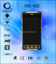 H3 4.3 inch Android industrial PDA smartphone / NFC reader
