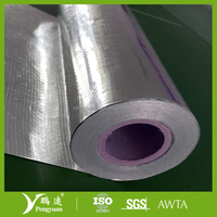 Woven foil air ducting insulation