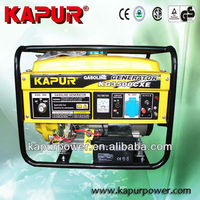 High Quality! KAPUR 207cc Honda engine gasoline generator