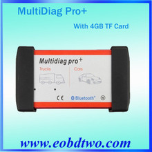 2015 Good quality with best price for Multidiag Pro+ V2013.03 with Bluetooth Multi language 4GB card for cars/trucks