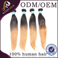 on sale nano ring indian virgin remy human hair weave, unprocessed top quality indian hair