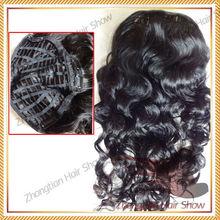 Wholesale Hot Selling 100% Human Hair Half Wig