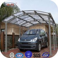 outdoor furniture fiberglass roof plastic carports