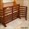 Foldable Indoor Wooden Pet Dog Gate/Homex_BSCI