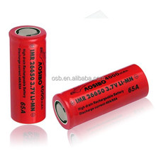 26650 high capacity mod battery for ecigs imr26650 4000mah 65a high drain battery 26650 4000
