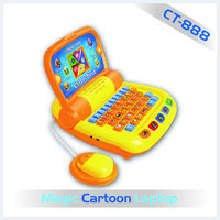 The hot selling mini cartoon learn computer keyboard for kids