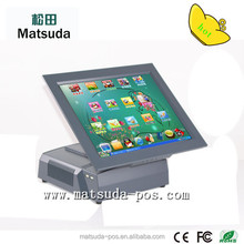 15'' touch restaurant pos system tablet