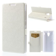 For Xiaomi Red Rice Hongmi / Hongmi 1S Cross Texture PU Leather Case w/ Card Slot