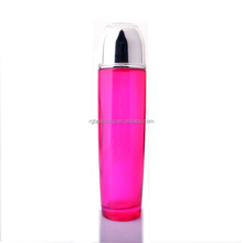 2015 hot sale luxury cosmetics packaging empty glss cream bottle for packing cosmetic glass bottles