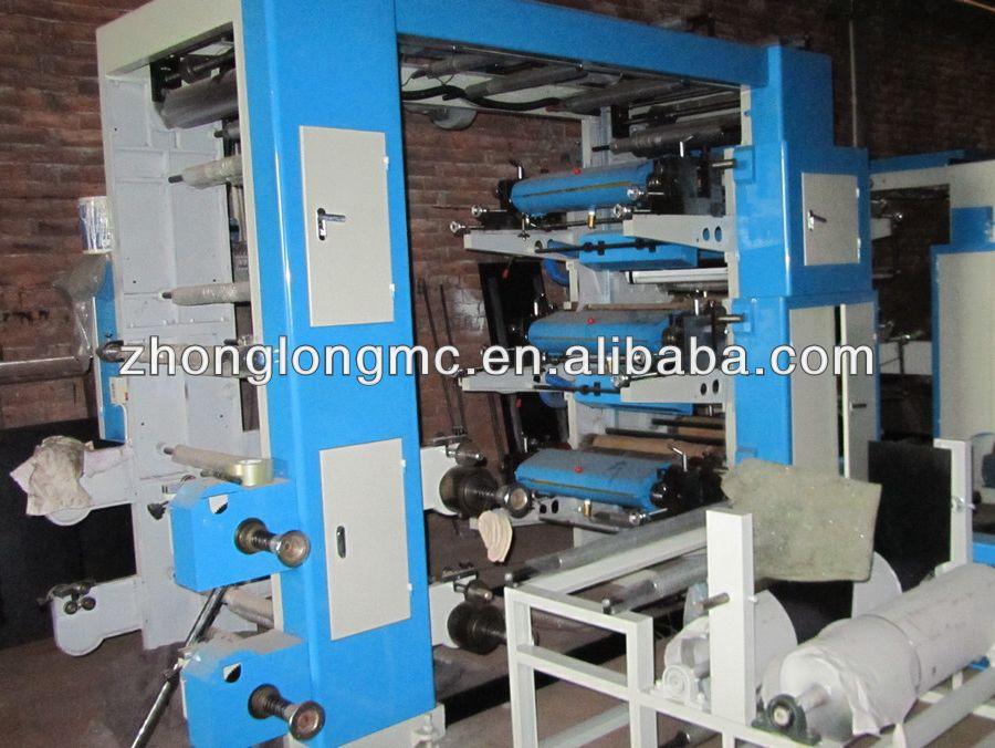Flexography printing machine, flexo printer