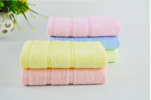 Han yao soft bamboo fiber face towel with high qulaity for family BFT004