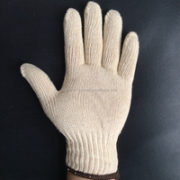 hote sale!!high quality 100% pure soft .breathable No static cotton gloves / No static miner dedication cotton gloves