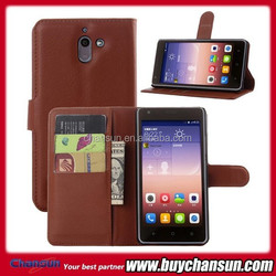 China wholesale for Huawei G628 flip leather case