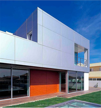 Exterior Wall Cladding Plastic Aluminum Composite Boards 3mm 4mm