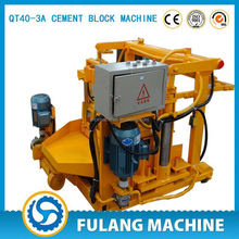China famous brand low cost egg laying block machine manual, QT40-3 egg laying block machine best quality