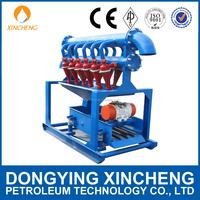 Oilfield drilling fluids desilter / mud desilter / desilting machine