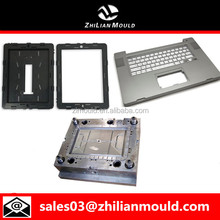 High precision plastic laptop housing mold and keyboard mold
