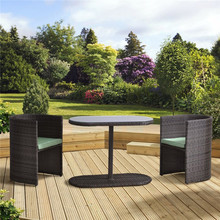 New Style Outdoor Wicker poly rattan garden furniture
