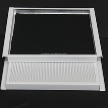 Easy Installation Aluminum Suspended Ceiling Sound-Absorbing Perforated Ceiling K shaped Expansive Ceiling