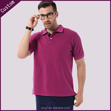 Pique embroider polo tshirt /polo collar tshirt design /Classic Collar Mens Polo tShirt