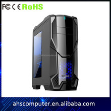 Perfect crystal side panel desktop atx gaming computer case/desktop gaming pc case/computer pc gaming case