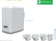 2015 new product 5V 2A smart 36v electric bike battery charger for Samsung mobile phones