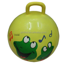 """New 17"""" Bounce Riding Hop Ball W Handle"""
