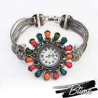 2015 the latest fashion new rhinestone alloy resin colorful watch for women and girl
