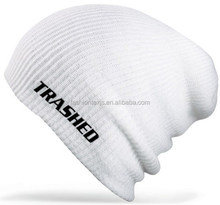 wholesale cheap winter warm acrylic knitted slouchy beanie