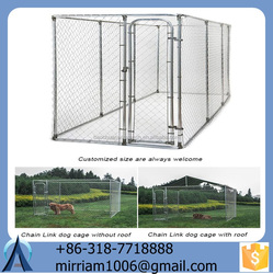 Modular Low price High Quality dog kennels , Folding Metal dog Cage/ pet cages /dog cages