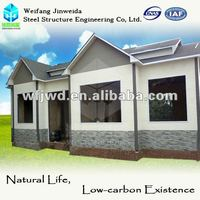 beautiful light steel structure prefabricated house beach front villa