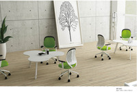 2015 New Style Curved Modern Office Meeting Table, Unique Conference Desk