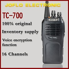 Hytera radio hyt TC-700 Walkie Talkie 16 channels two way radio for Original HYT