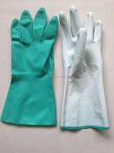 15 Mil(0.38MM) Green Nitrile Gloves Safety Products