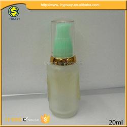Perfume Glass Bottle With Plastic Pump Sprayer