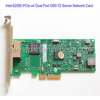 Intel PCI-E Express Gigabit Network Card With Multi Port Lan Card Based On I350-T2 With Low Profile Bracket