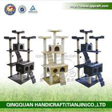 QQGY Factory Price Wholesale Cat Pole Pet Furniture Cat Tree Cat Furniture